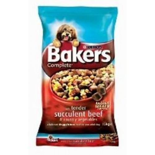 Bakers Complete Beef & Veg 14kg