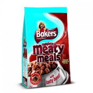 Bakers Meaty Meals Beef 2.7kg – FREE DELIVERY !!!