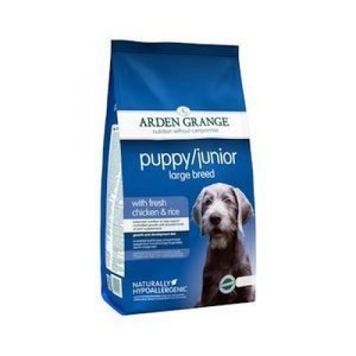 Arden Grange Puppy Junior Large Breed Chicken & Rice 12Kg
