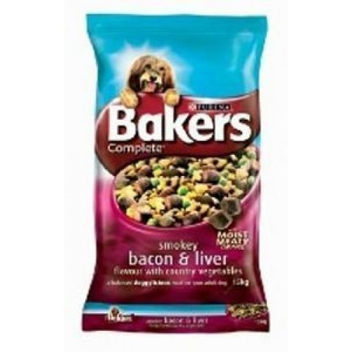 Bakers Complete Bacon & Liver 14kg
