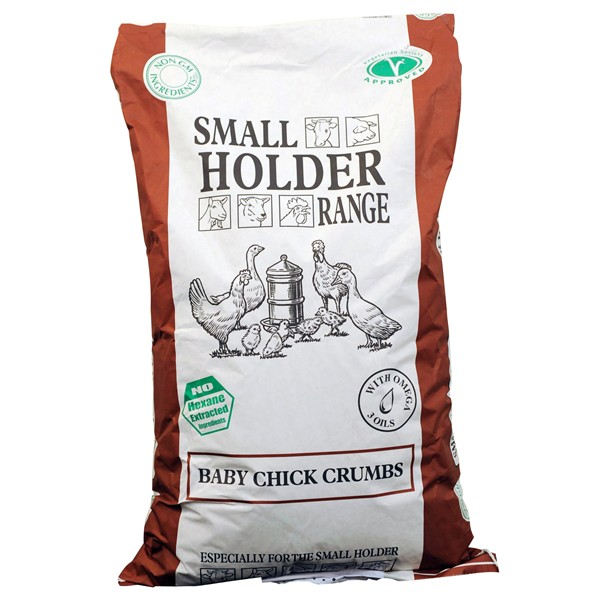 Allen & Page Baby Chick Crumb 20 Kg  FREE DELIVERY !!!