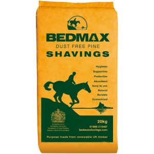 Bedmax Shavings 20kg Horse Bedding***£7.99 *** COLLECT IN PERSON FOR THIS SPECIAL ONLINE DEAL  !!!