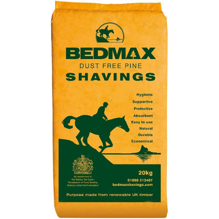 Bedmax Shavings Bale 20kg Horse Bedding – FREE DELIVERY !!!