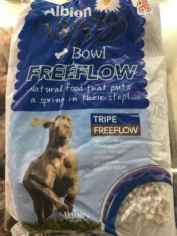 eureka animal feeds frozen dog food freeflow tripe