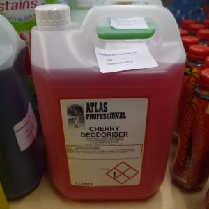 Atlas Professional Cherry Deodoriser 5 Litres – FREE DELIVERY !!!
