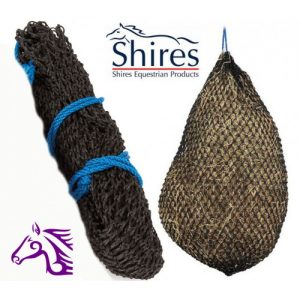 Shires Greedy Feeder Hay Net Large Black – FREE DELIVERY !!!