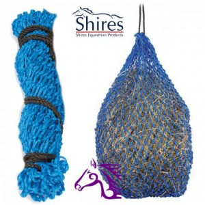 Shires Greedy Feeder Hay Net Small Royal -FREE DELIVERY !!!