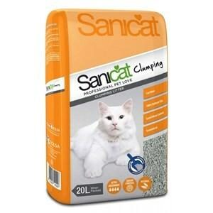 Sanicat Clumping Grey Cat Litter 20ltr Bag  ***£7.99*** COLLECT IN PERSON FOR THIS SPECIAL ONLINE DEAL   !!!