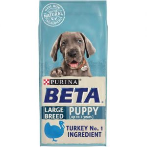 PURINA BETA Puppy Large Breed With Turkey & Rice 14kg Bag ***£29.69*** COLLECT IN PERSON FOR THIS SPECIAL ONLINE DEAL  !!!