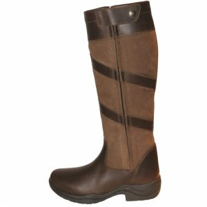 Mark Todd Waterproof Tall Zip Boots-Brown – FREE DELIVERY !!!