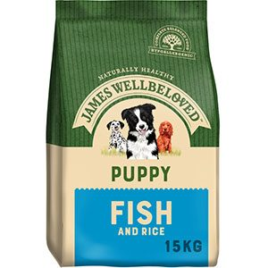 James Wellbeloved Puppy  Fish & Rice 15kg ***£47.99*** COLLECT IN PERSON FOR THIS SPECIAL ONLINE DEAL  !!!