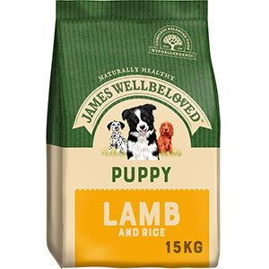 James Wellbeloved Puppy Lamb & Rice 15kg ***£47.99*** COLLECT IN PERSON FOR THIS SPECIAL ONLINE DEAL  !!!