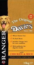 Davies Ranger Dog Adult Chicken 15kg – FREE DELIVERY !!!