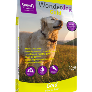 Sneyds Wonderdog Gold 15kg ***£18.99*** COLLECT IN PERSON FOR THIS SPECIAL ONLINE DEAL  !!!
