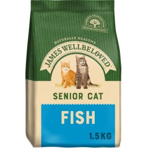 James Wellbeloved Senior 7+ Cat Fish 1.5kg ***£10.99*** COLLECT IN PERSON FOR THIS SPECIAL ONLINE DEAL  !!!