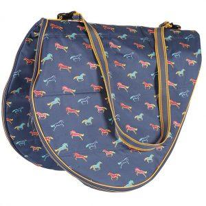 Shires Horse Print Saddle  Bag  !!!