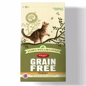 James Wellbeloved Adult Cat Grain Free Turkey 1.5kg  ***£10.99*** COLLECT IN PERSON FOR THIS SPECIAL ONLINE DEAL  !!!