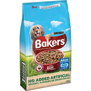 Bakers Adult Dog Food Beef 14 Kg – FREE DELIVERY !!!