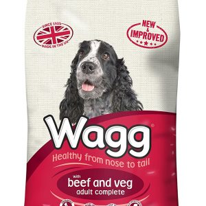 Wagg Worker Dog Food With Beef And Veg 12kg – FREE DELIVERY !!!