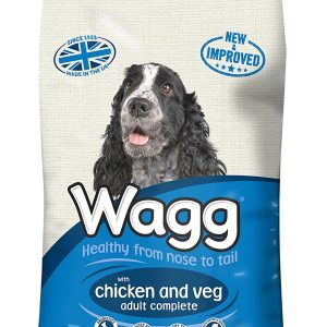Wagg Dog Food Complete Chicken And Veg 12kg  *** £9.99 *** COLLECT IN PERSON FOR THIS SPECIAL ONLINE DEAL  !!!