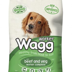 Wagg Complete Worker Dry Mix Dog Food Beef And Vegetables 17kg – FREE DELIVERY !!!