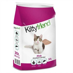 Kitty Friend  Pink Cat Litter  30ltr Bag  ***£9.99*** COLLECT IN PERSON FOR THIS SPECIAL ONLINE DEAL  !!!