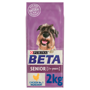 PURINA BETA Senior With Chicken & Rice 2kg ***£7.99*** COLLECT IN PERSON FOR THIS SPECIAL ONLINE DEAL  !!!