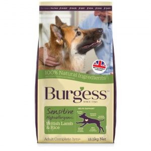 Burgess Sensitive Lamb 12.5kg – FREE DELIVERY !!!