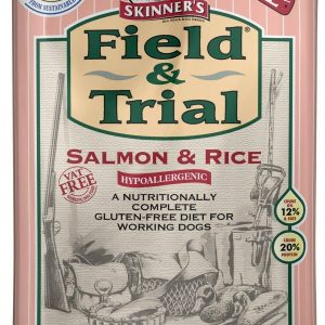 Skinner's Field & Trial Salmon & Rice 15kg – FREE DELIVERY !!!