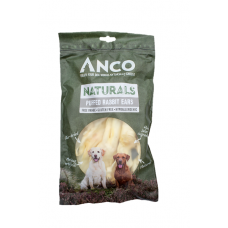 Anco Naturals Puffed Rabbit Ears 100g  *** £3.99 *** COLLECT IN PERSON FOR THIS SPECIAL ONLINE DEAL  !!!