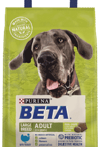 Purina BETA Large Breed Adult Turkey 14kg – FREE DELIVERY !!!