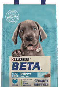 Purina BETA Large Breed Puppy Turkey 14kg – FREE DELIVERY !!!