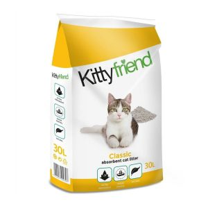 Kitty Friend  Classic Absorbent Cat Litter 30ltr  ***£9.99*** COLLECT IN PERSON FOR THIS SPECIAL ONLINE DEAL   !!!