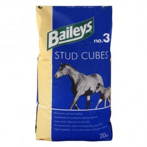 Baileys No.3 Stud Cubes Non-Heating 20kg  *** £ 12.99 *** COLLECT IN PERSON FOR THIS SPECIAL ONLINE DEAL  !!!