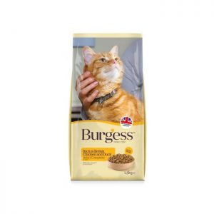 Burgess Adult Cat Food British Chicken And Duck 1.5kg ***£5.99*** COLLECT IN PERSON FOR THIS SPECIAL ONLINE DEAL  !!!