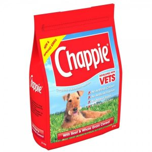 Chappie With Beef And Whole Grain Cereal 15kg – FREE DELIVERY !!!
