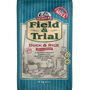 Skinner's Field & Trial Duck & Rice Dog Food 15kg – FREE DELIVERY !!!