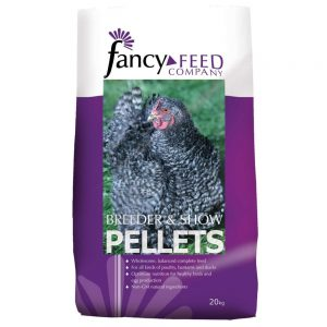 Fancy Feed Company Breeder And Show Pellets 20Kg ***£9.99*** COLLECT IN PERSON FOR THIS SPECIAL ONLINE DEAL  !!!