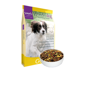 Sneyds Wonderdog Gold With Real Meat Pieces 22% Protein 15kg – FREE DELIVERY !!!