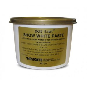 Gold Label Show White Paste For Horses-400g – FREE DELIVERY !!!