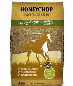 Honeychop Chopped Oat Straw 12.5kg – FREE DELIVERY !!!