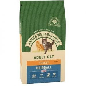 James Wellbeloved Adult Cat Hairball Turkey 1.5kg ***£10.99*** COLLECT IN PERSON FOR THIS SPECIAL ONLINE DEAL  !!!