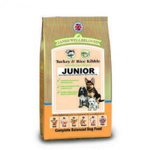James Wellbeloved Dog Junior Turkey & Rice 15kg – FREE DELIVERY !!!