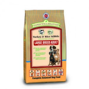 James Wellbeloved Dog Adult Large Breed Turkey & Rice 15kg – FREE DELIVERY !!!