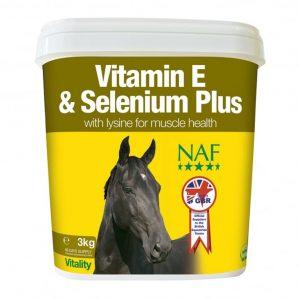 NAF Vitamin E Selenium & Lysine 1kg – FREE DELIVERY !!!