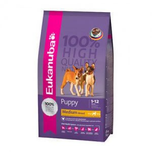 Eukanuba Puppy Medium Breed 15kg – FREE DELIVERY !!!