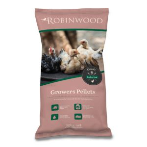 Robinwood  Poultry Show & Grow Pellets 20kg Bag  ***£8.75*** COLLECT IN PERSON FOR THIS SPECIAL ONLINE DEAL  !!!