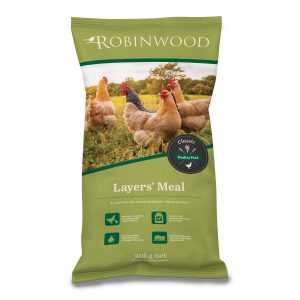 Robinwood  Poultry Layers Meal 20kg  Bag ***£7.99*** COLLECT IN PERSON FOR THIS SPECIAL ONLINE DEAL  !!!