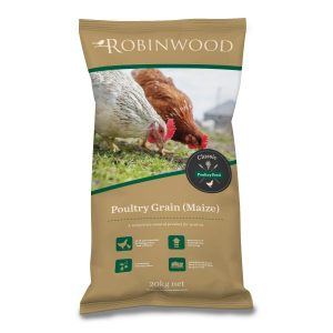 Robinwood  Poultry  Split Maize  20kg  Bag ***£7.99*** COLLECT IN PERSON FOR THIS SPECIAL ONLINE DEAL  !!!