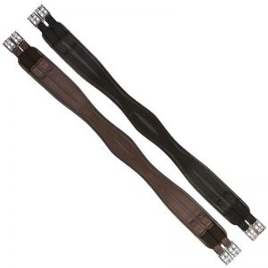 Elico Waffle Atherstone Girth Brown & Black – FREE DELIVERY !!!